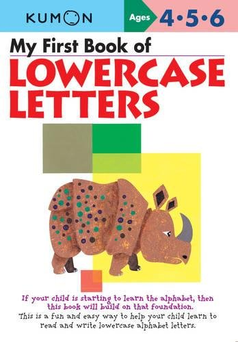 9781933241814: My First Book of Lowercase Letters (Kumon Workbooks, Commonwealth Edition)