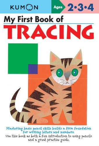 9781933241838: My First Book Of Tracing (My First Book - Kumon)