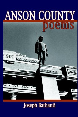 9781933251110: Anson County: Poems