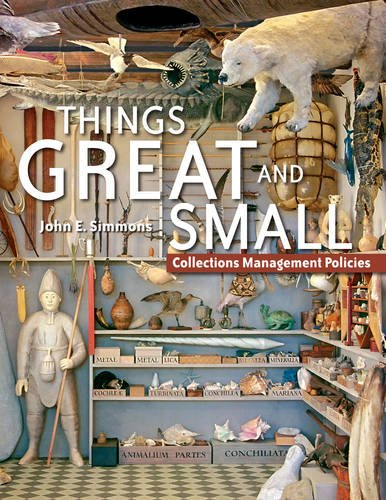 9781933253039: Things Great and Small: Collections Management Policies
