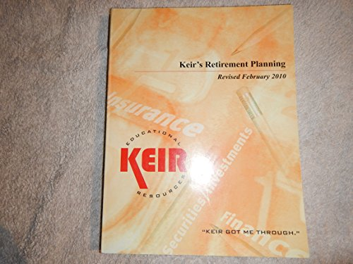 9781933259710: Keir's Retirement Planning
