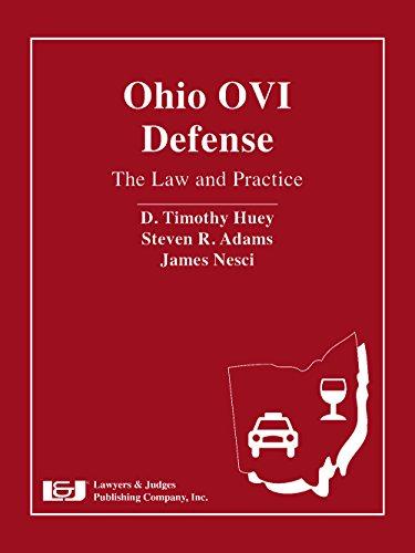 9781933264288: Ohio OVI Defense: The Law and Practice