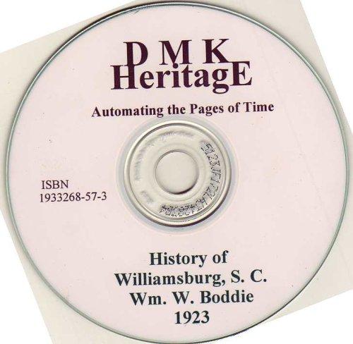 9781933268569: History of Williamsburg, SC