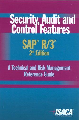 Security, Audit and Control Features SAP R/3: Deloitte Touche Tohmatsu