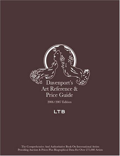 9781933295077: Davenport's Art Reference and Price Guide 2006-2007 (Davenport's Art Reference and Price Guide)