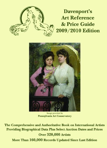 9781933295282: 2009/2010 Davenport's Art Reference & Price Guide (DAVENPORT'S ART REFERENCE AND PRICE GUIDE)