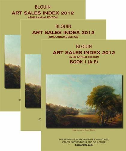 9781933295503: Art Sales Index: 2012