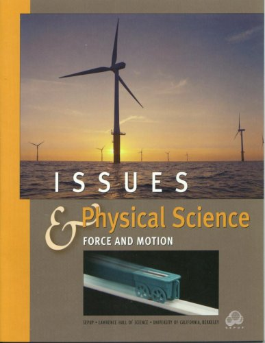 Issues Physical Science Force and Motion: unk.