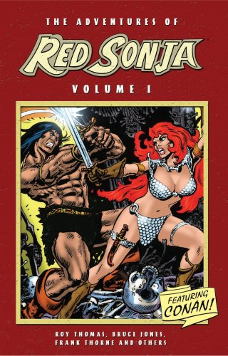 9781933305073: The Adventures Of Red Sonja Volume 1 Featuring Conan: v. 1