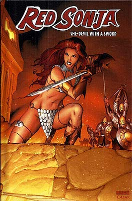 Red Sonja Vol. 1: She-Devil with a: Oeming, Michael Avon;