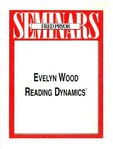 9781933328140: Evelyn Wood Reading Dynamics