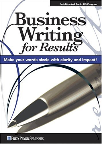 9781933328652: Business Writing for Results