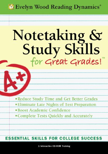9781933328911: Notetaking and Study Skills for Great Grades