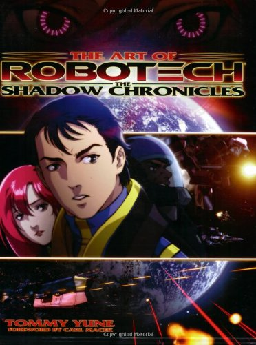 The Art of Robotech: The Shadow Chronicles: Yune, Tommy