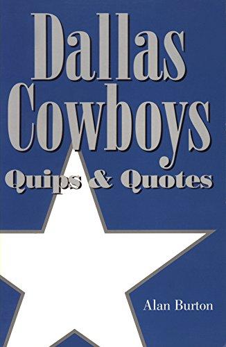 9781933337098 dallas cowboys quips and quotes abebooks alan stock image voltagebd Gallery