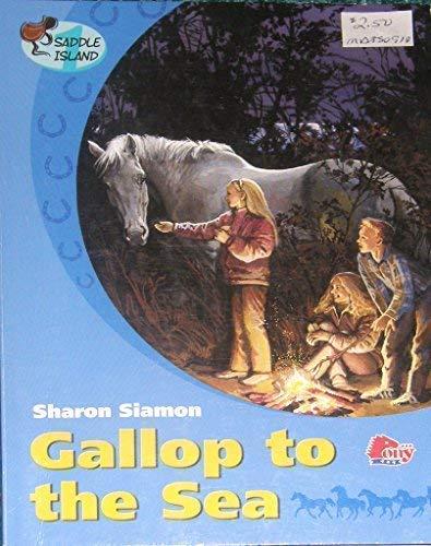 9781933343129: Gallop to the Sea (Saddle Island)