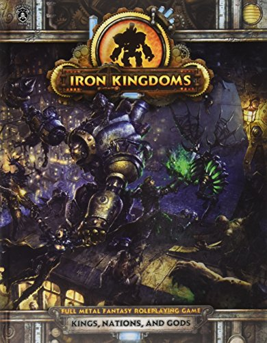 IKRPG Kings Nations and Gods Playset, Iron Kingdom Full Metal Fantasy Roleplaying Game: Snoddy, ...