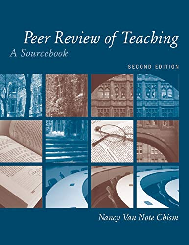 Peer Review Teach A Sourcebook Second Edition (JB-Anker): Chism, Nancy Van Note