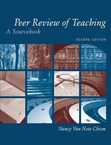 9781933371214: Peer Review of Teaching: A Sourcebook