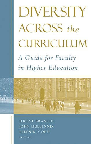 9781933371283: Diversity Across the Curriculum: A Guide for Faculty in Higher Education