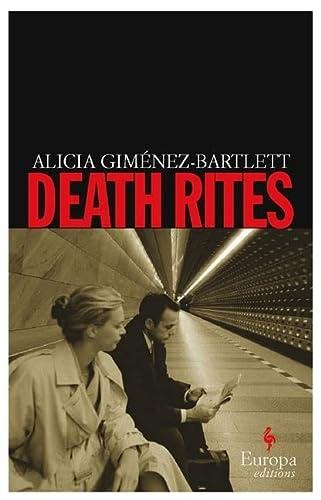 Death Rites: Alicia Giménez-Bartlett