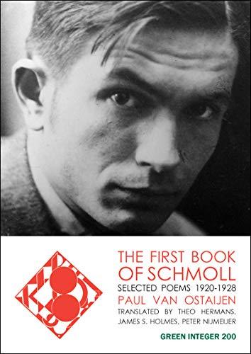 9781933382210: The First Book of Schmoll (Green Integer) (Dutch Edition)