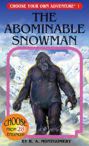 9781933390017: The Abominable Snowman (Choose Your Own Adventure #1)