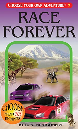 9781933390079: Race Forever (Choose Your Own Adventure #7)