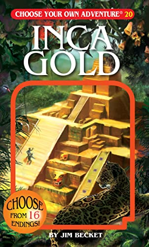 Inca Gold (Choose Your Own Adventure #20): Jim Becket