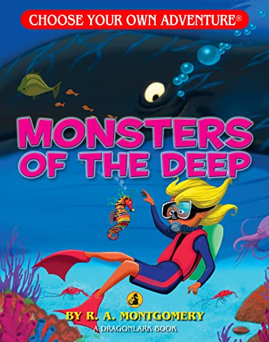 9781933390376: Monsters of the Deep (Choose Your Own Adventure - Dragonlark)