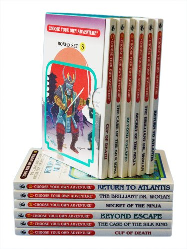 9781933390932: Cup of Death/The Case of the Silk King/Beyond Escape/Secret of the Ninja/The Brilliant Dr Wogan/Return to Atlantis (Choose Your Own Adventure 13-18) (Box Set 3)