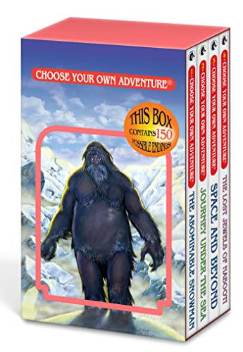9781933390949: The Abominable Snowman/Journey Under the Sea/Space and Beyond/The Lost Jewels of Nabooti (Choose Your Own Adventure 1-4)