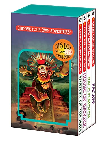 9781933390956: Mystery of the Maya/House of Danger/Race Forever/Escape (Choose Your Own Adventure 5-8)