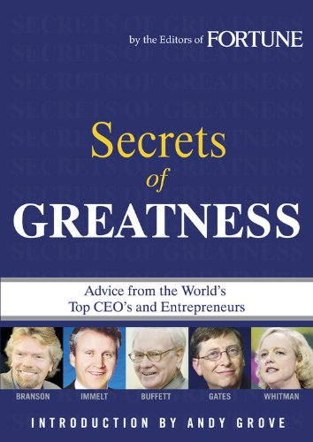 Fortune: Secrets of Greatness: Editors of Fortune