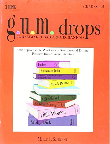 9781933407005: G.U.M.drops Grade 1-2