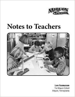 9781933407098: Miquon Notes to Teachers