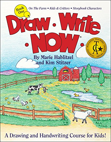 9781933407555: Draw Write Now Book 1: On the Farm, Kids and Critters, Storybook Characters