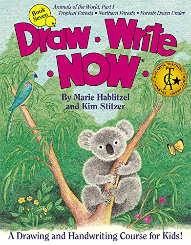 Draw Write Now Book 7: Animals of the World Part 1: Forest Animals: Marie Hablitzel