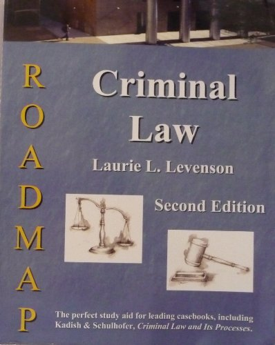 9781933408071: Criminal Law Roadmap