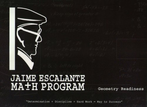 9781933408248: Jaime Escalante Math Program: Geometry Readiness Workbook