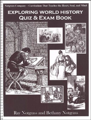 9781933410364: Exploring World History Quiz & Exam Book (Supplemental Material for Exploring World History)