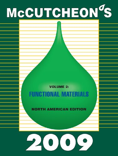2009 McCutcheon's Functional Materials: North American Edition: Michael Allured