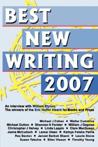 9781933435176: Best New Writing 2007