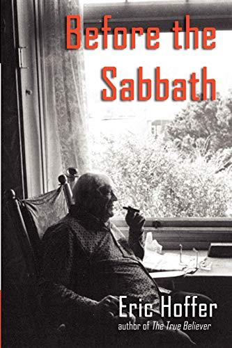 9781933435305: Before the Sabbath