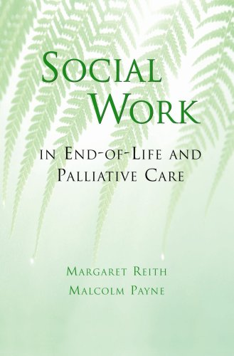 9781933478586: Social Work in End-Of-Life and Palliative Care