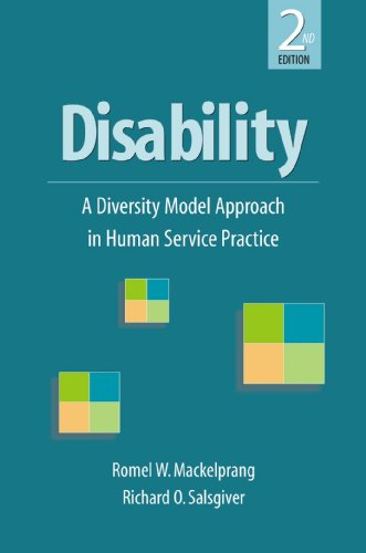 9781933478593: Disability: A Diversity Model Approach in Human Service Practice