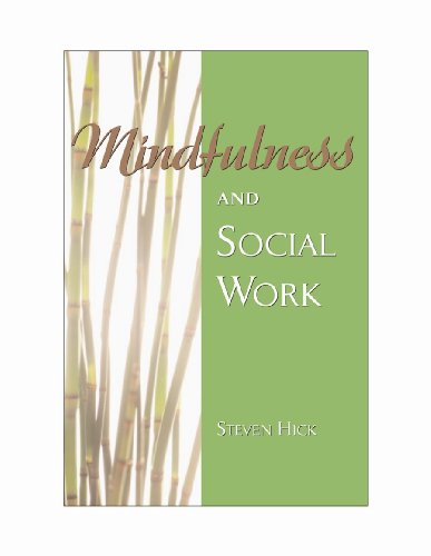 9781933478609: Mindfulness and Social Work