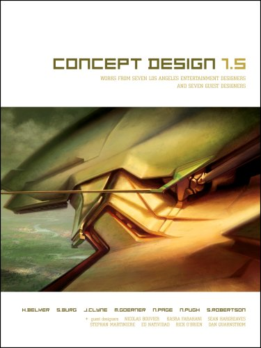 9781933492452: Concept Design 1.5: Works from Seven Los Angeles Entertainment Designers And Seven Guest Artists