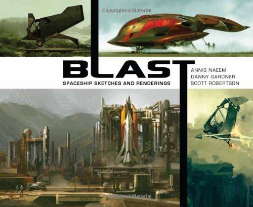 9781933492629: BLAST HC: spaceship sketches and renderings