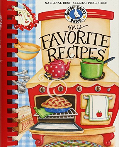 9781933494111: My Favorite Recipes Cookbook (Everyday Cookbook Collection)